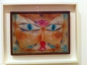 """Paul Klee, """"Cat and Bird,"""" 1928, at MoMA"""