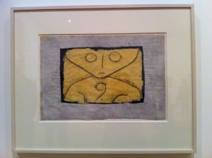 "Paul Klee, ""Letter Ghost,"" 1937"