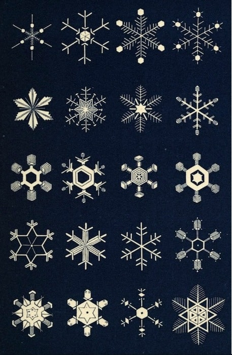 Book of Snowflakes