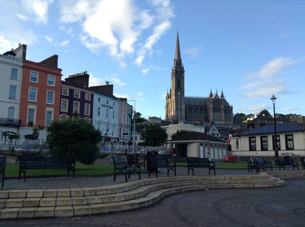 In Cobh, Ireland
