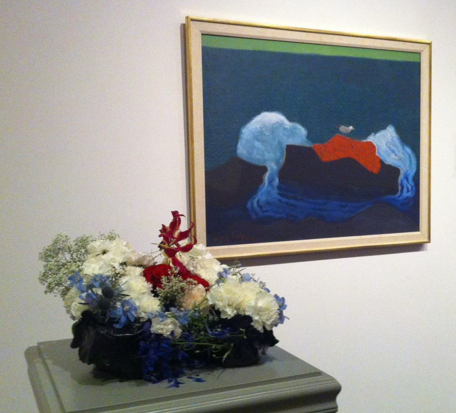 """The Sea Gull,"" Milton Avery Flowers by Robin Whitney"